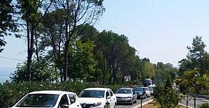 Aşırı yoğunluk nedeniyle milli park araç girişine kapatıldı