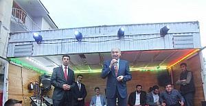 Başakşehir Belediye Başkanı Mevlüt Uysal Malazgirt'te