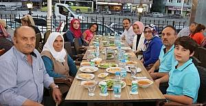 Başkan Cahan Şehit Aileleri ve Gazilerle iftar yaptı