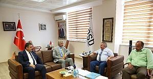 Başkan Çelik, Kayseri OSB'nin yönetimini ziyaret etti
