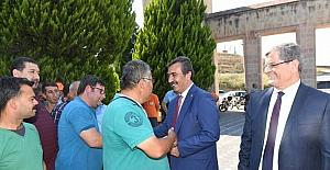 Başkan Çetin belediye personeliyle bayramlaştı