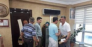 Başkan Duymuş, Belediye personelleriyle bayramlaştı