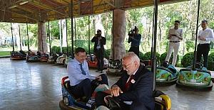 Başkan Gökçek, AK Parti'li siyasetçilere Ankapark'ı gezdirdi