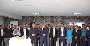 Başkan şahiner personeliyle bayramlaştı