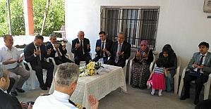 Başkan Seyfi Dingil, şehit ve gazi aileleri ile bayramlaştı