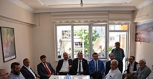 Bilecik AK Parti Milletvekili Eldemir Bozüyük'te partililerle bayramlaştı