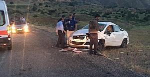 Bingöl'de kaza: 2 yaralı