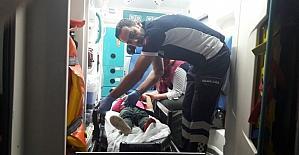 Bingöl'de trafik kazası:8 yaralı