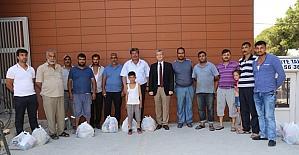 Burhaniye'de Ramazan davulcuları ödüllendirildi