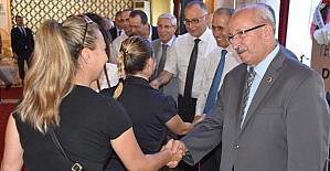 Büyükşehir Belediye personeli bayramlaştı