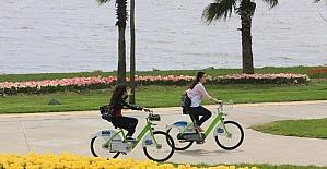 Büyükşehir'den 36 bin 547 metre bisiklet yolu