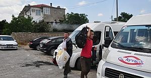 Çanakkale'de 58 kaçak göçmen yakalandı