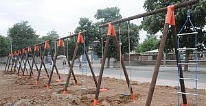 Cizre Belediyesi 'cıncilikleri yeniledi