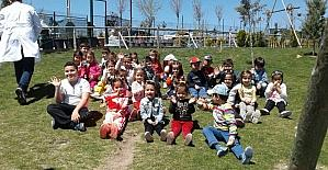 Çocuklar doğayı sevdi