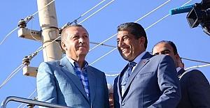 Cumhurbaşkanı Erdoğan'dan Başkan Atilla'ya övgü