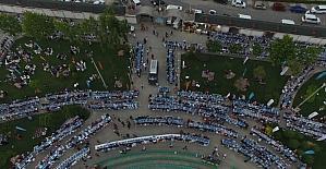 Darıca'da Kadir Gecesi hep birlikte kutlandı