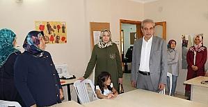 Demirkol, Devteşti kadın destek merkezini ziyaret etti