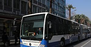 Denizli'de Bayramda otobüsler iki gün ücretsiz