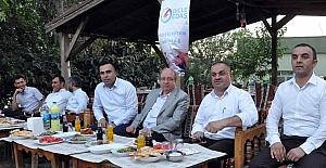 Dicle Elektrik çalışanları Şırnak'taki iftarda buluştu