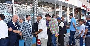 Dursunbey'de Bayramlaşma Belediyede yapıldı