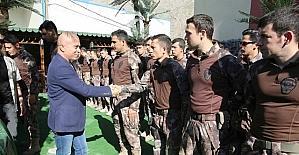 Emniyet Müdürü Dilberoğlu, polisin bayramını kutladı
