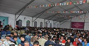 Erzurum Valiliği'nden Mültecilere iftar yemeği