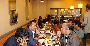 Forum Erzurum'dan gazetecilere iftar yemeği