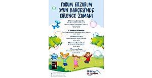 Forum Erzurum'dan Oyun Bahçesi'ne davet