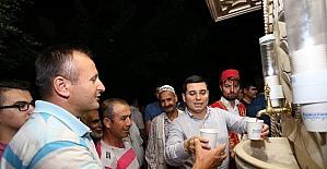 Kepez'den 33 bin kişiye şerbet ikramı