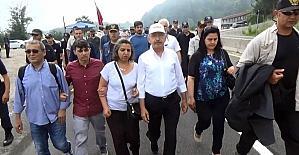 Kılıçdaroğlu Bolu Dağı'nı aştı