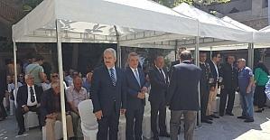 Kuşadası'nda bayramlaşma töreni yapıldı
