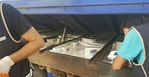 Mardin'de 20 bin paket kaçak sigara ele geçirildi