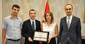 Milas Sebahattin Akyüz Fen Lisesi, Avrupa Kalite Etiketi ile ödüllendirildi