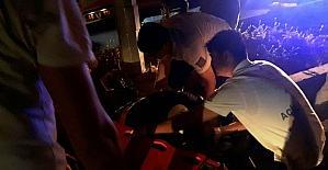 Motosiklet kazasında yüzbaşı öldü arkadaşı ağır yaralandı