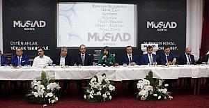MÜSİAD Konya Şubesi bayramlaşma programı iş ve siyaset dünyasını bir araya getirdi