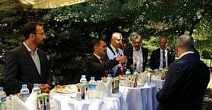Nevşehir protokolü bayramlaştı