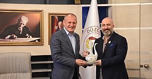 Osmanlı torunundan Başkan Keleş'e ziyaret