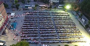 Pamukkale Belediyesi'nden Deliktaş'ta 2 bin kişilik iftar sofrası