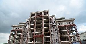 Pursaklar Belediyesi Hizmet Binası inşaat çalışmaları devam ediyor