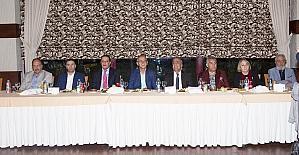 Rektör Çomaklı'dan Erzurum basınına iftar yemeği
