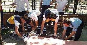 Sakarya'da alkollü şahıs hastaneye kaldırıldı