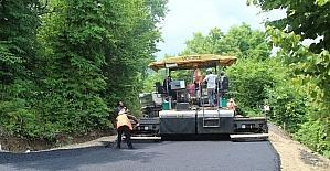 Sakarya'da asfalt çalışmaları sürüyor