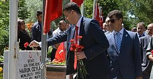 Şehitler diyarı Kırıkkale'de şehitler anıldı