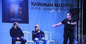 Seksenler dizisi oyuncuları belediyenin Ramazan programına katıldı