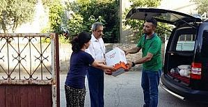 Şifa veren ellerden ihtiyaç sahiplerine yardım eli