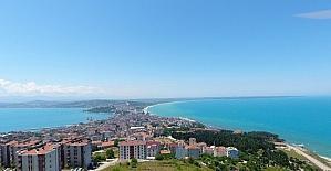 """Sinop'un seyir terası """"Şahin Tepesi"""""""