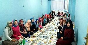 Soğuk Çeşme Kız Kur'an Kursu'nda iftar