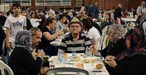 Son iftar sofrası Ertuğrulgazi'de kuruldu