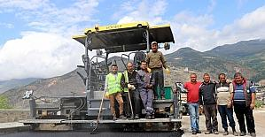Süleymaniye yolunda asfalt çalışmaları başladı
