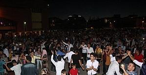 Sungurlu'da halk konserine yoğun ilgi